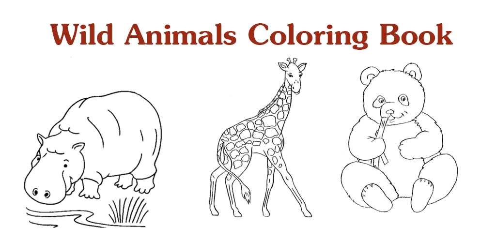 Amazon.com: Wild Animals Coloring Book: Appstore For Android
