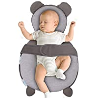 BIBLY BABY Portable Baby Bed | Prevent Flat Head Syndrome | Thick Newborn Lounger...