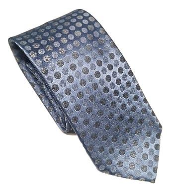 42403856 New Men's Ermenegildo Zegna Geometric Dots Italian Silk Tie ...