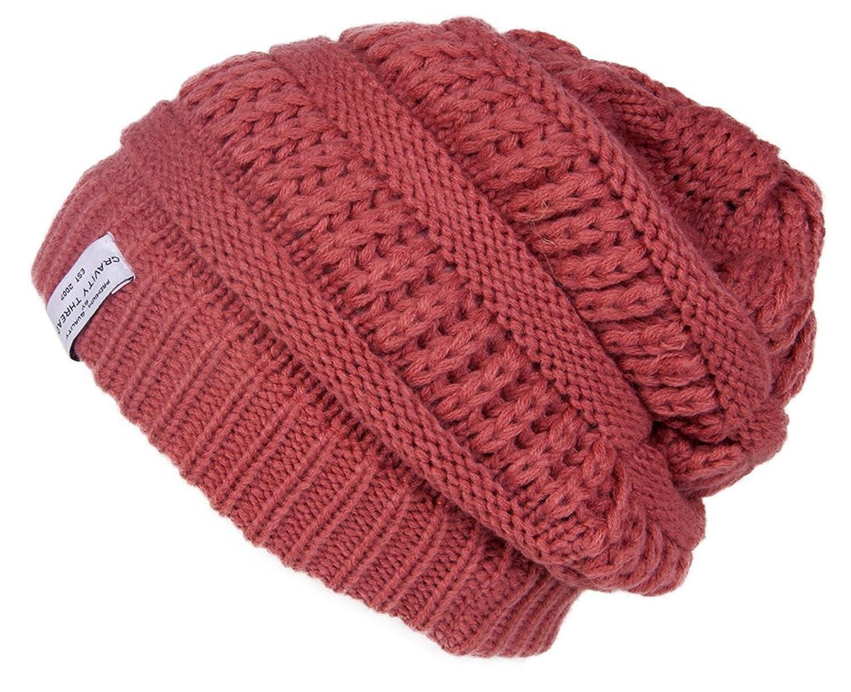 Gravity Crochet Knit Weave Beanie