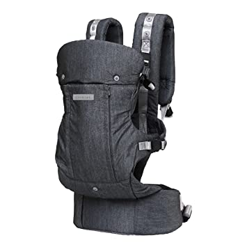 391deb6a877 Amazon.com   CLARMIEL One Touch Magnetic Lightweight Baby and Toddler  Carrier