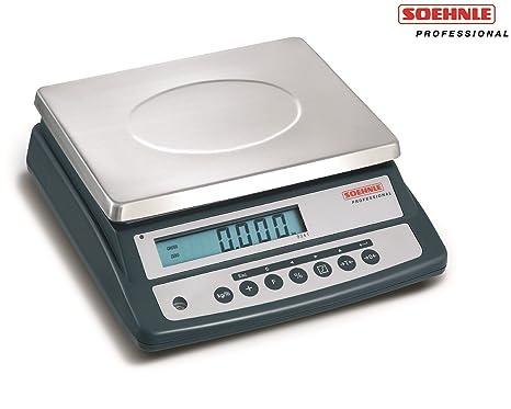 Soehnle Professional – Báscula compacta (Peso 9241 15 kg