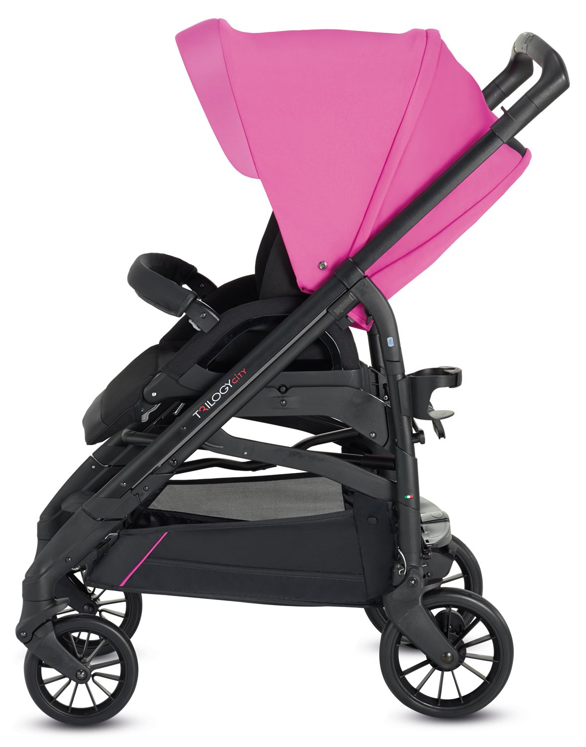 Inglesina TRILOGY COLORS SYSTEM PEGGY PINK con chasis City Black: Amazon.es: Bebé