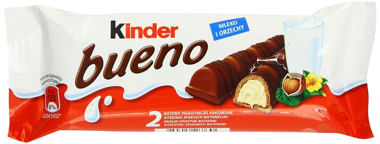 Amazon.com : Ferrero Kinder Bueno Wafer Cookies, 1.5 Ounce (43 g ...