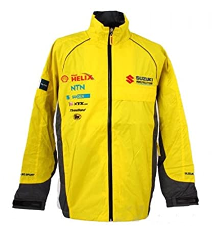 WRC Challenge Suzuki Sport World Rally Team Motorsport para hombre amarillo chaqueta, hombre, amarillo