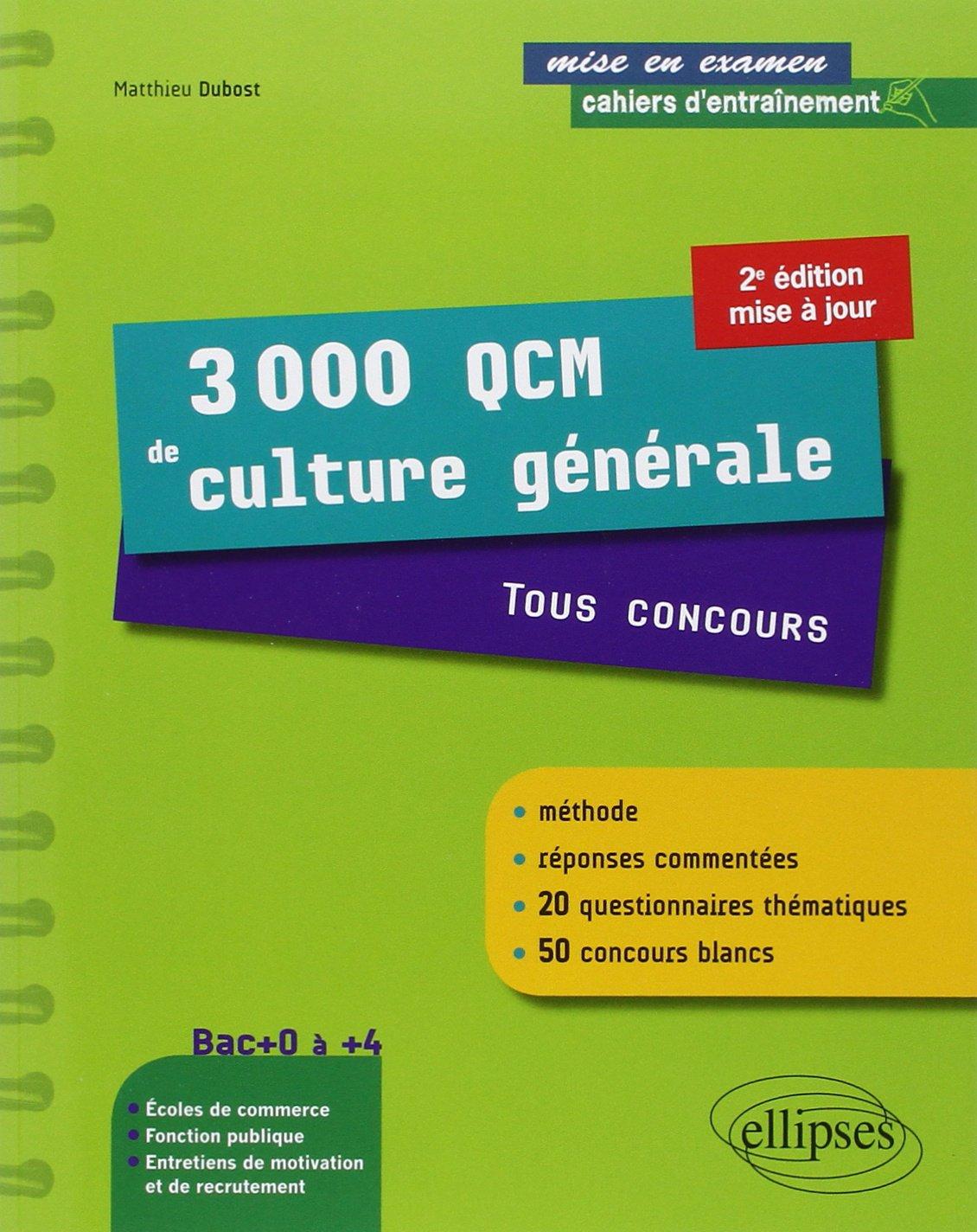 Culture générale niveau bac