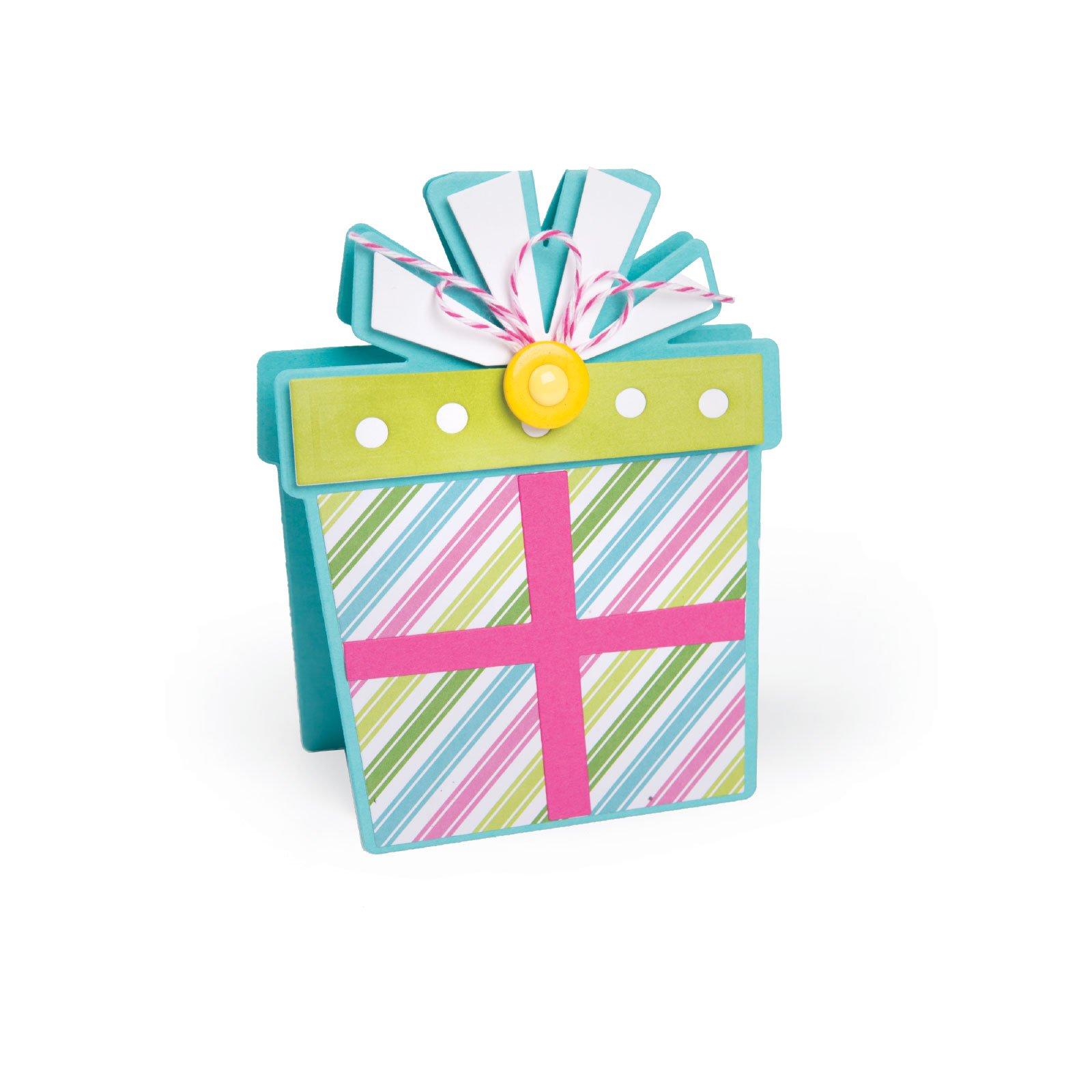 Cupcake Fold-Its Sizzix Framelits 561843