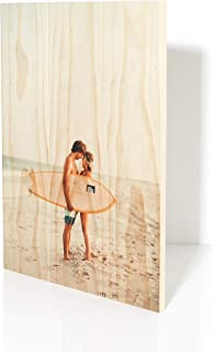 product image for 22.5x16.5 Custom Planked Wood Print