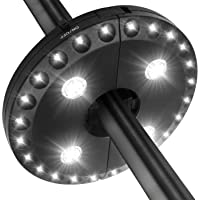 LATME Patio Umbrella Lights Pole Light for Umbrellas,Camping Tents or Outdoor Use