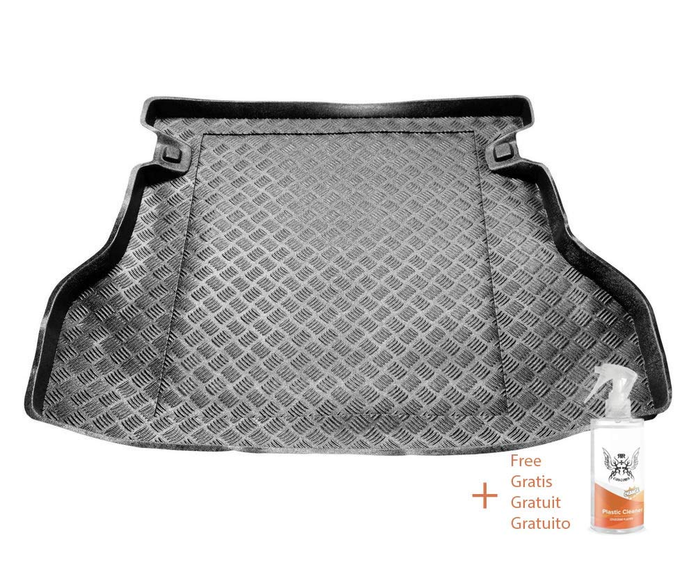 Cubre Maletero de PVC Compatible con Toyota AVENSIS II Lifback Regalo + Limpiador de Plasticos 2003-2009