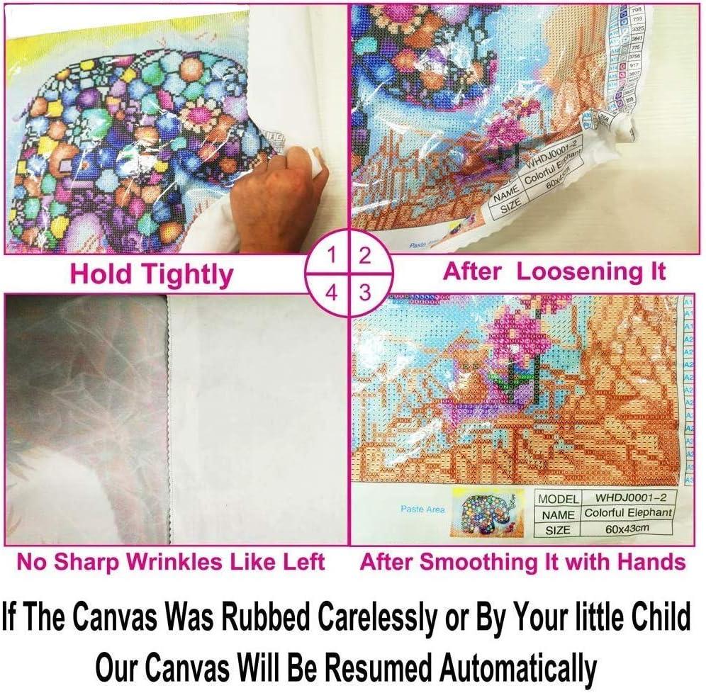 Figura redonda completa 5D DIY Diamante Pintura Dibujos animados Elsa Diamante Bordado en punto de cruz Rhinestone Mosaico 11.8x15.8inch