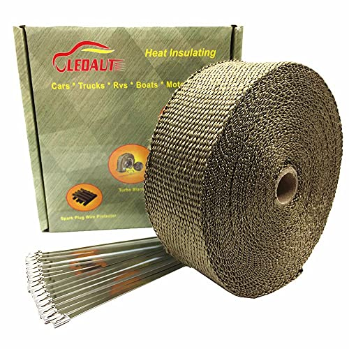 LEDAUT Titanium Exhaust Heat Wrap