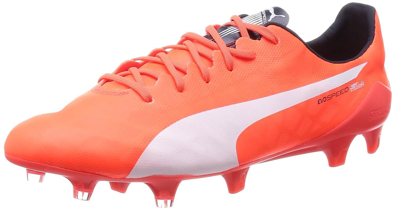 orange puma football boots