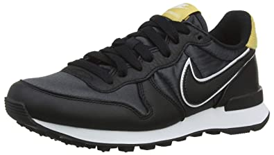 best authentic 57a8e a54f7 Nike Women s W Internationalist Heat Gymnastics Shoes, Black Wheat Gold  001, 3.5 UK