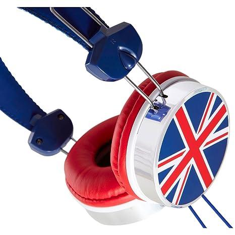 Groov-e - Cuffie con bandiera del Regno Unito  Amazon.it  Elettronica d0a69922d6d9