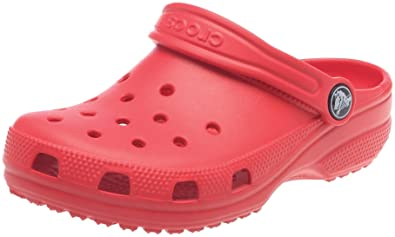 9f7529b40b Crocs Kid's Classic Open Sandals 4-5 M US Toddler Red