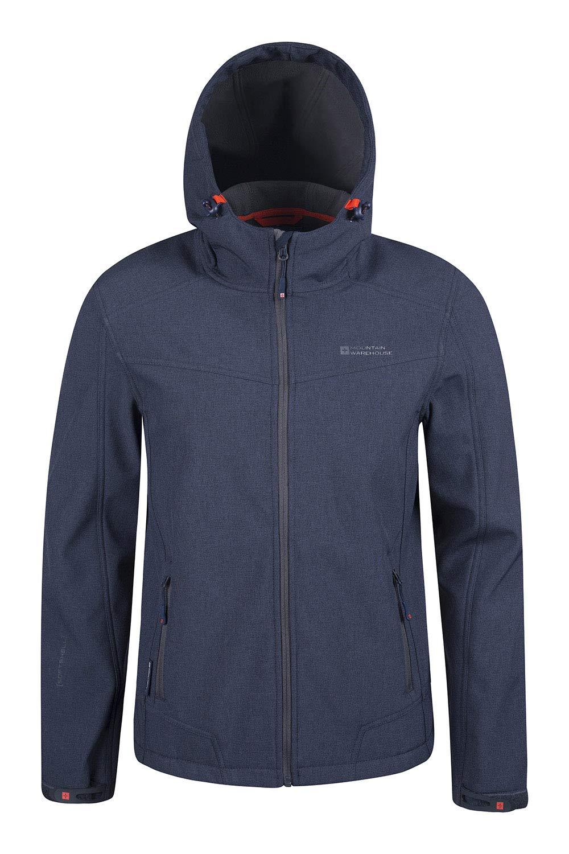 Mountain Warehouse Reykjavik Mens Softshell Jacket - Rain Coat