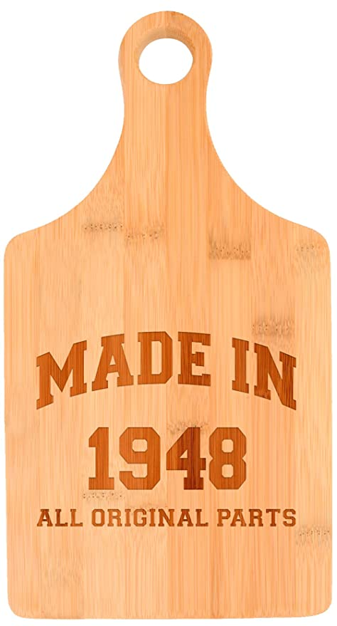 70th Birthday Gifts For Grandma Made 1948 All Original Parts Gift Ideas Paddle Shaped