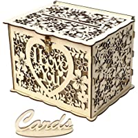Prosperveil - Buzón de madera para tarjetas