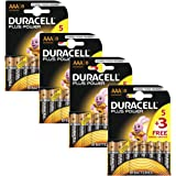 Duracell Plus Power MN2400 Alkaline AAA Batteries - 32-Pack