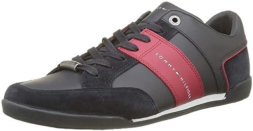 Tommy Hilfiger Corporate Herren Sneaker Blau: