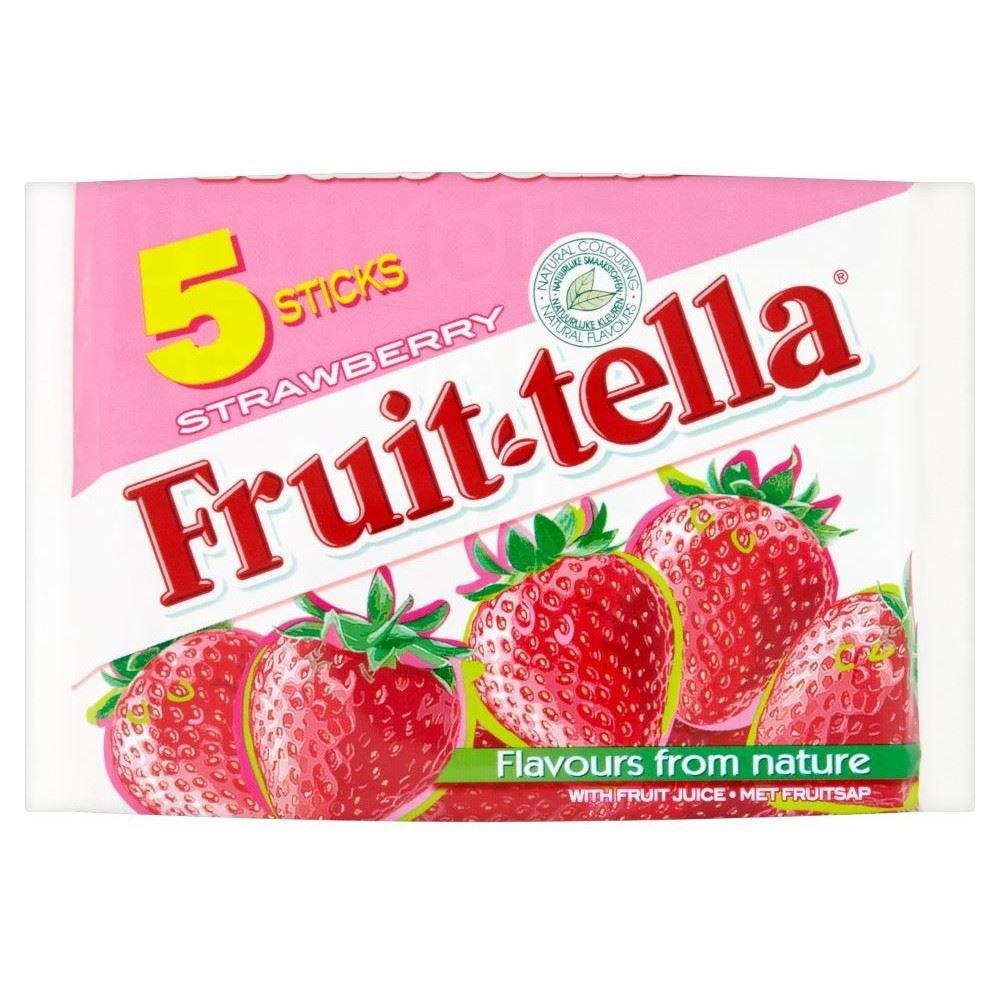 Fruit-tella Strawberry (5x41g) - Pack of 2