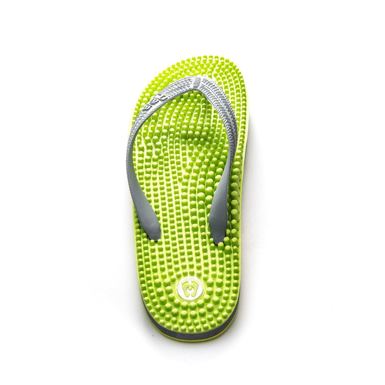 bab077e5257 Revs Reflexology Massage Flip Flops. A Sophisticated Design