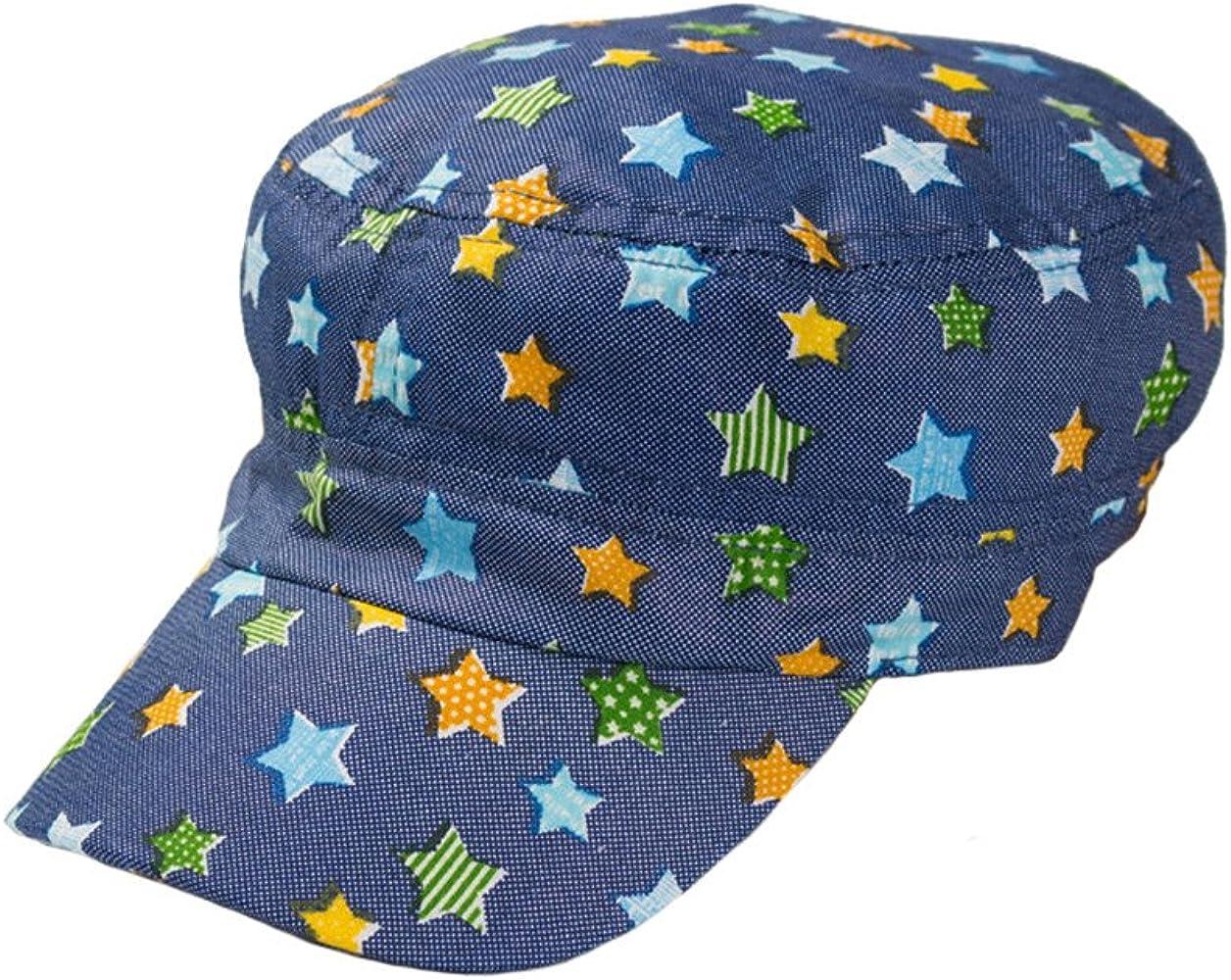 Algodón Gorras Militares Chico Niños Bebé Impresión Estrellas ...