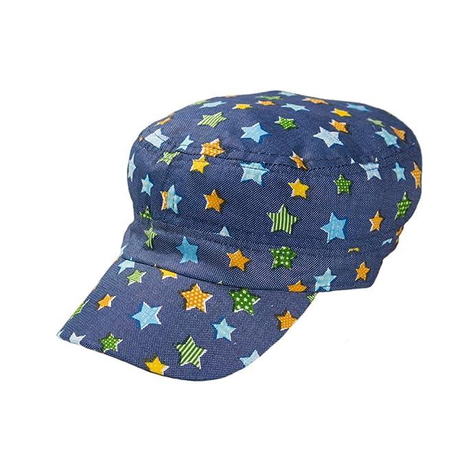 Algodón Gorras Militares Chico Niños Bebé Impresión Estrellas Hatteras Flat Caps: Amazon.es: Ropa y accesorios