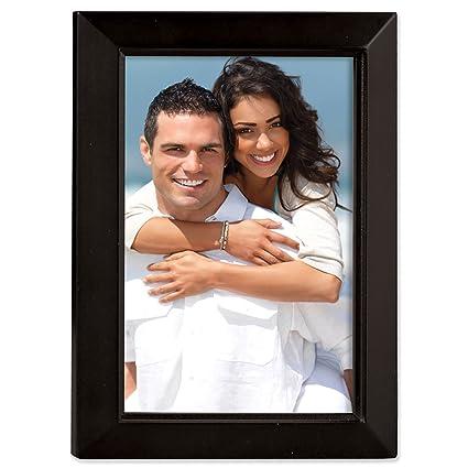 Amazon Lawrence Frames Black Wood 4x5 Picture Frame Estero