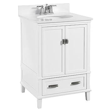 Dorel Living Otum 24 Bathroom Vanity White