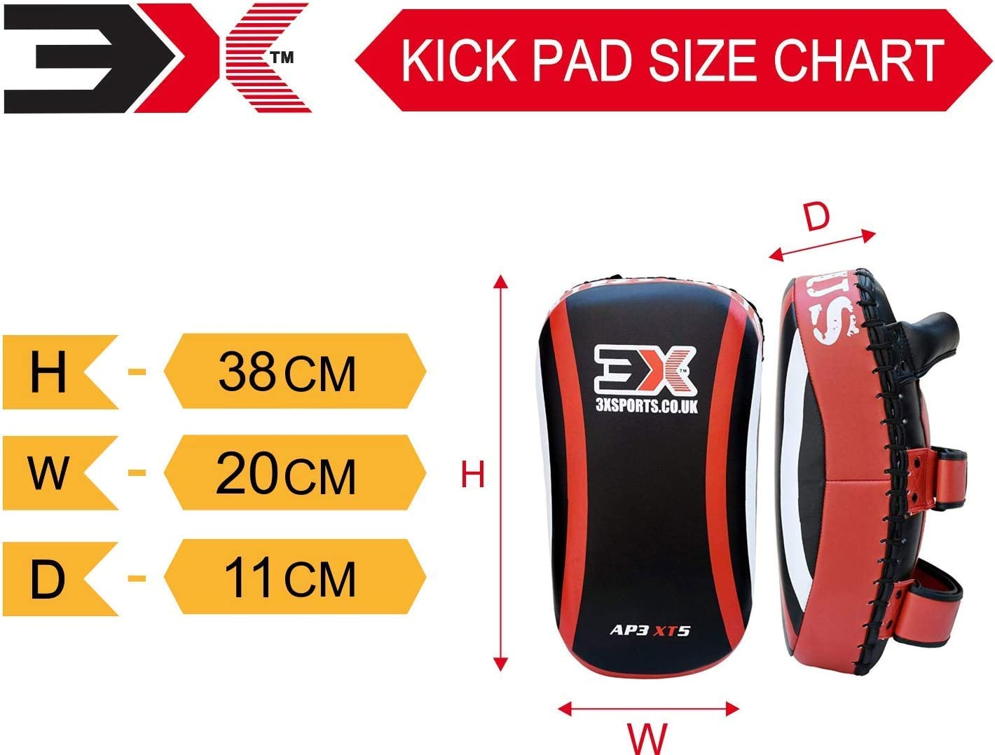 SOLD AS SINGLE ITEM 3X Professional Choice Boxing Strike Shield Training Thai Pad Kickboxing Krav Maga MMA Target Focus Punching Mitts