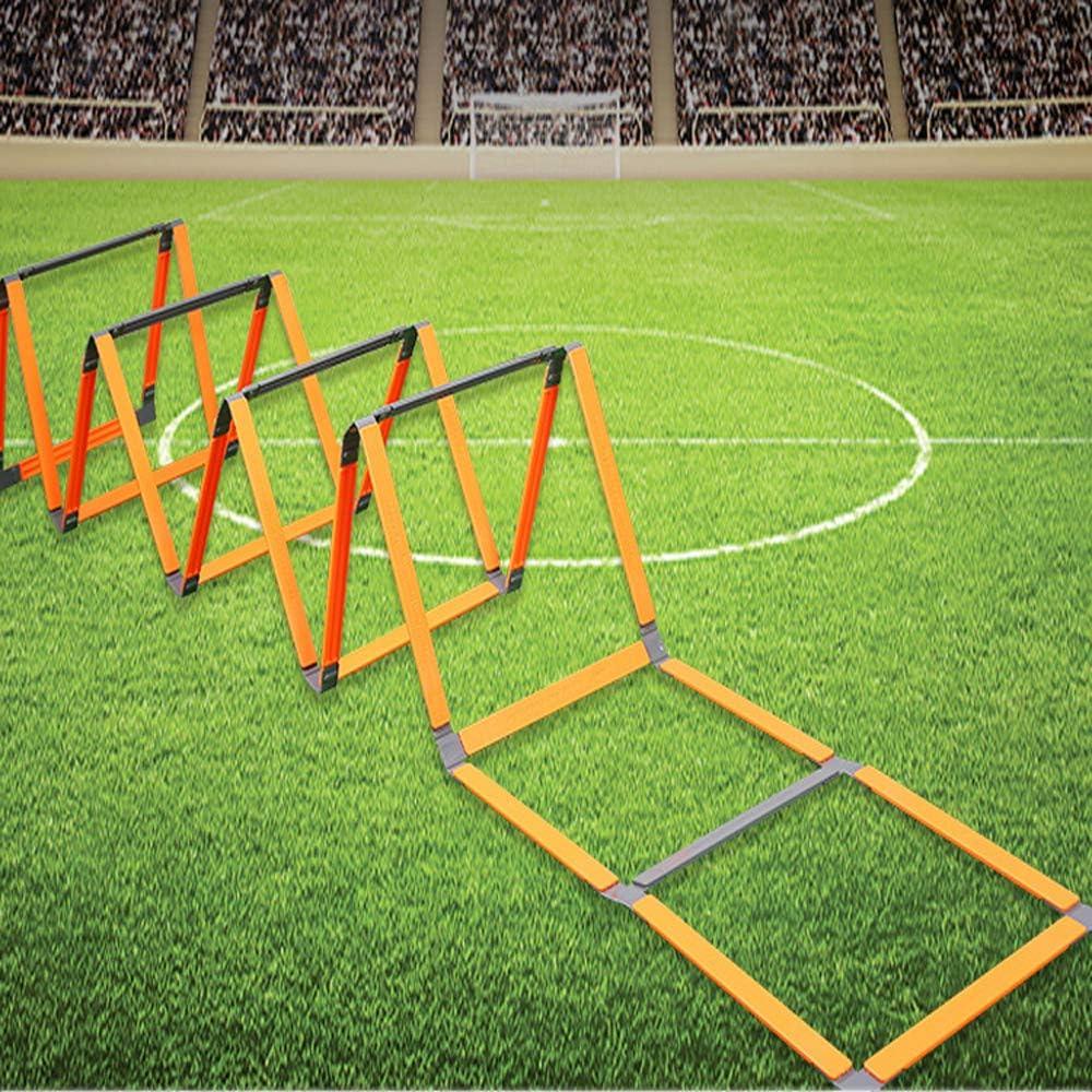 Escalera de entrenamiento de Escalera de fútbol ,peldaños,escalera de agilidad,escalera de coordinación,escalera de entrenamiento para boxeo de entrenamiento de alta intensidad,fútbol,Lacrosse,etc: Amazon.es: Hogar