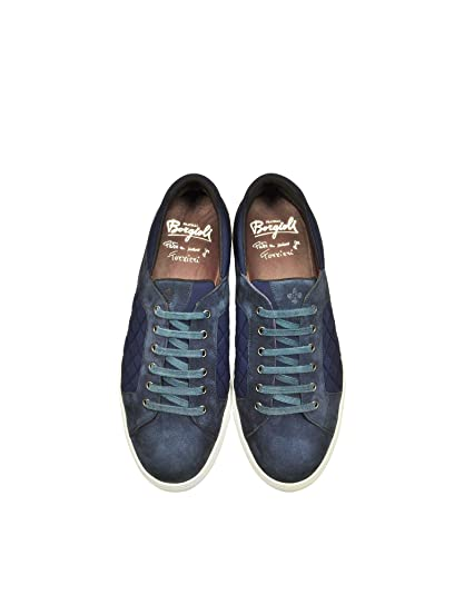 Sneakers Blue Fratelli A2121530londoner266 Borgioli Suede 80OPwkXNn