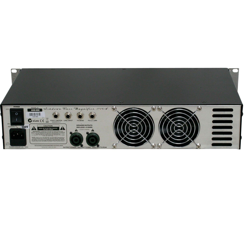 Ashdown ABM 600 RC Evo Iv tète de amplificador para bajo, color plateado: Amazon.es: Instrumentos musicales