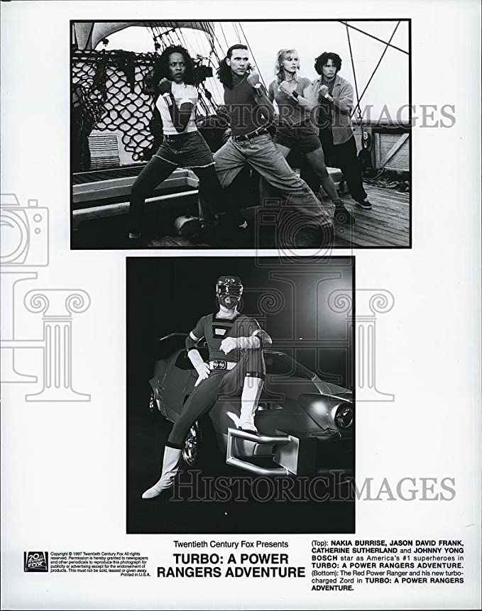 Amazon.com: Vintage Photos 1997 Press Photo Turbo: A Power Rangers Adventure Nakia Burrise Jason David: Photographs