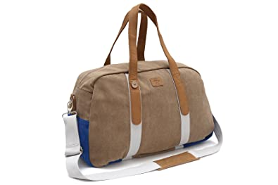 4ce6156a34 Faguo - - Homme - Sac 48H Canvas Suede Sand Overseas pour homme - TU ...