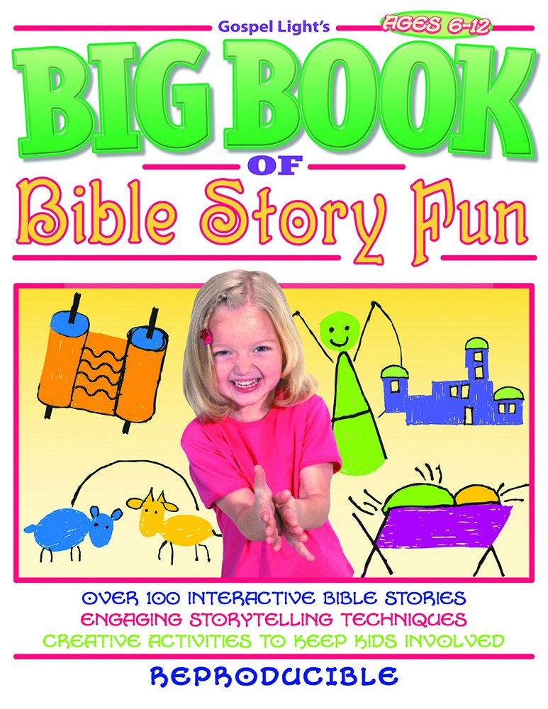 Read Online The Big Book of Bible Story Fun (Big Books) pdf