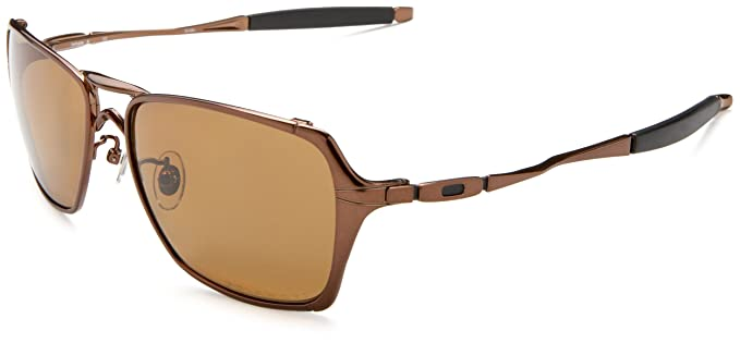 5ea5938069 Oakley Men's Inmate Polarized Sunglasses,Chocolate Frame/Bronze Lens,one  size