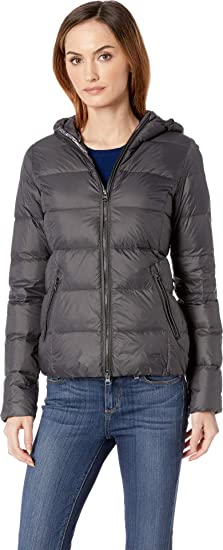 f4d7c2d2a ILSE JACOBSEN Women Air08 Light Down Jacket Blue Grayness: Amazon.co ...