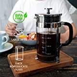 French Press Coffee And Tea Maker With 4 Level