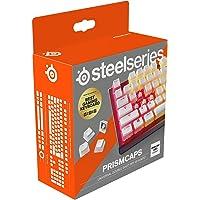 """SteelSeries PrismCaps – Çift Taraflı Tuş Seti, """"Puding"""" Görünümlü, Tüm Standart Mekanik Klavyeler ile Uyumluluk – MX…"""