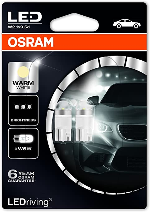 2x Vauxhall Vectra MK2//C Genuine Osram Original Side Light Parking Lamp Bulbs