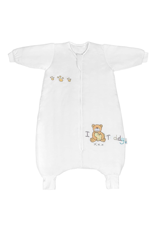 Slumbersac Bamboo Toddler Winter Sleeping Bag with Feet approx. 3.5 Tog - I Love Teddy- 24-36 months