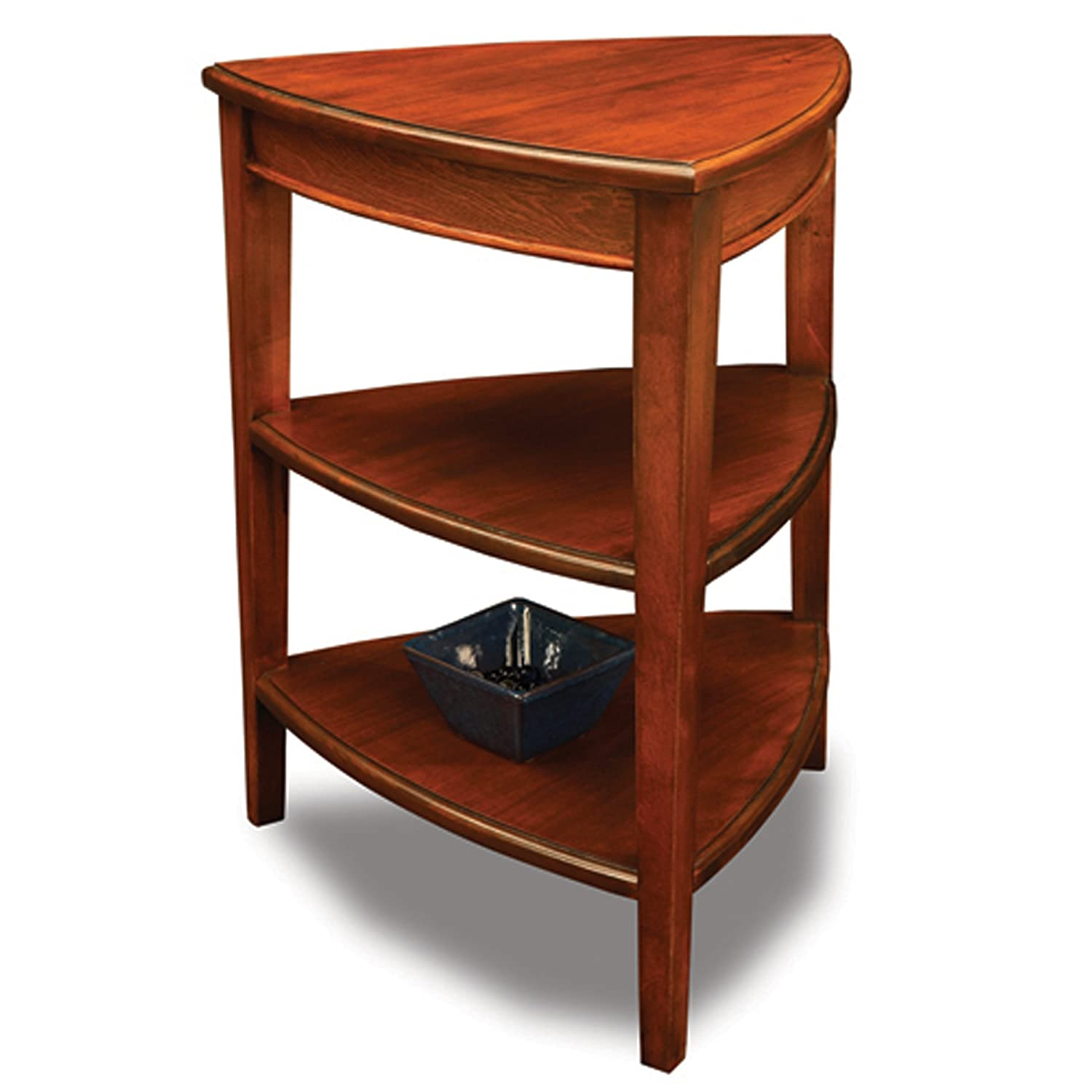 Amazon Leick Shield Tier Corner Accent Table Kitchen & Dining