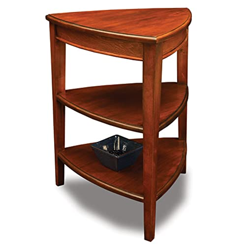 Leick Shield Tier Corner Accent Table