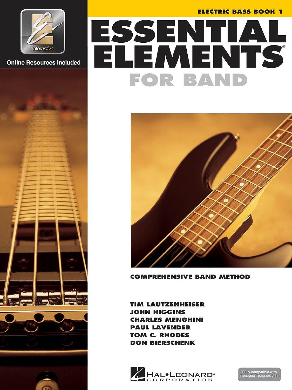 Essential Elements 2000: Electric Bass Book 1 (Book/CD-ROM). para ...