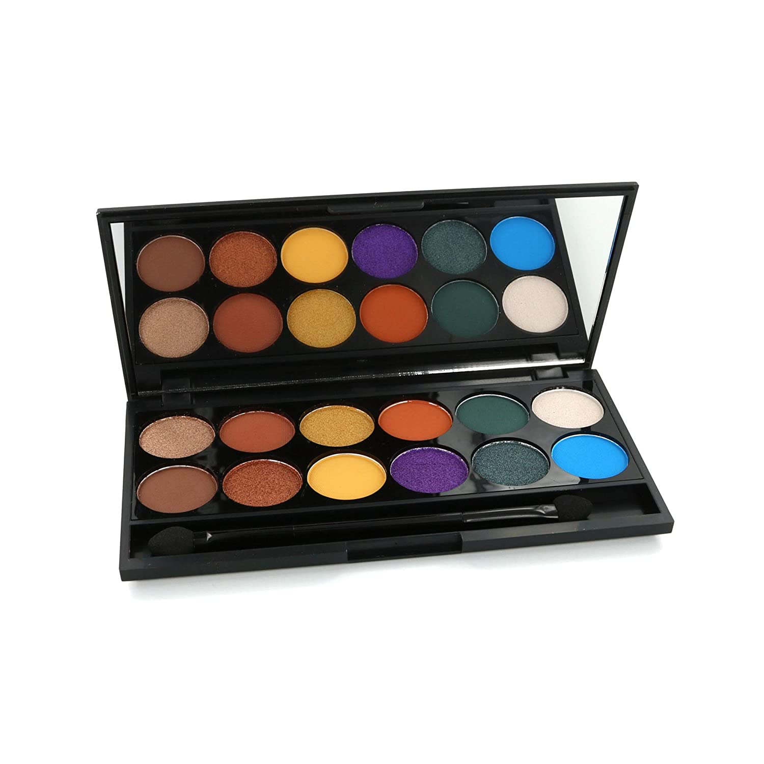 Sleek Makeup Ultrapigmented and Long-Lasting, Limited Edition – Color Carnage – Mineral Eyeshadow Palette, 9g
