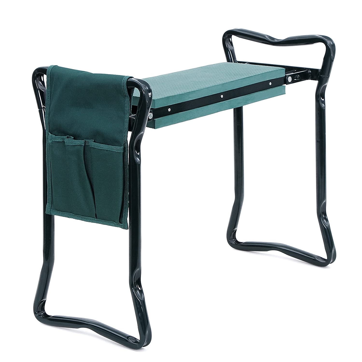 Garden Kneeler Seat Bench with Handles