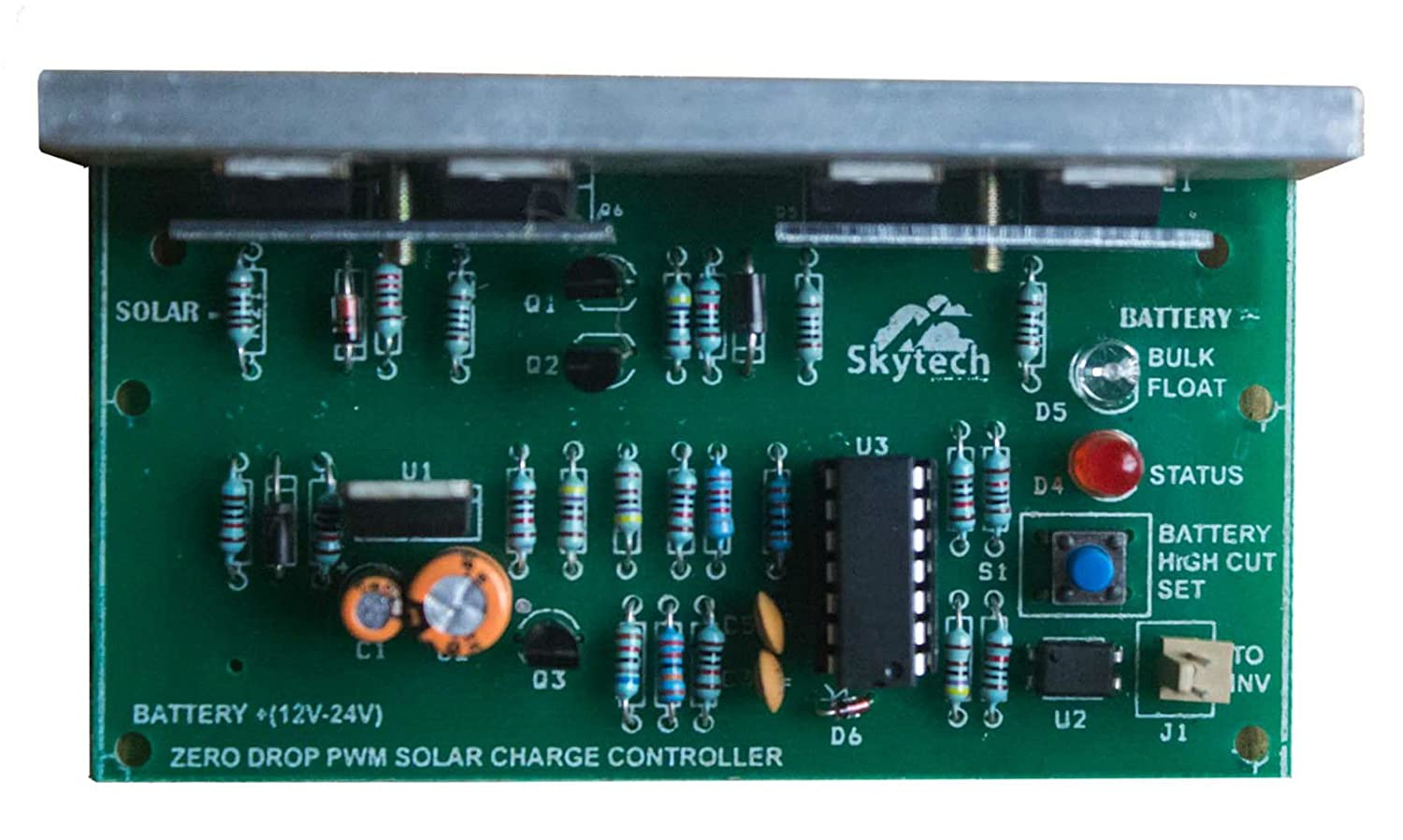 Solar Charge Controller Pwm 12v 24v 30a Garden Outdoors Circuit Working With Microcontroller